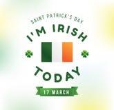 Happy Saint Patricks day Royalty Free Stock Images