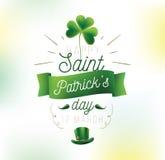 Happy Saint Patricks day Stock Photos