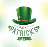 Happy Saint Patricks day Stock Image