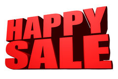 Happy sale Stock Photo