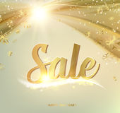 Happy Sale card Royalty Free Stock Image