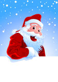 Happy Santa Royalty Free Stock Image