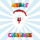 Happy Santa. Illustration of cute Santa Claus Royalty Free Stock Image