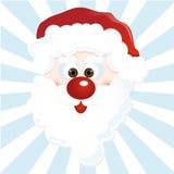 Happy Santa. Illustration of cute Santa Claus Royalty Free Stock Images