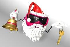 Happy Santa Royalty Free Stock Images