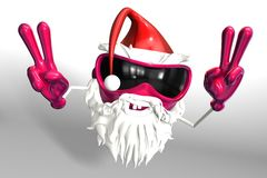 Happy Santa Stock Image