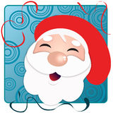 Happy santa Royalty Free Stock Photo
