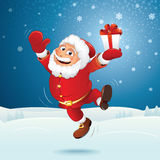 Happy Santa Stock Photo