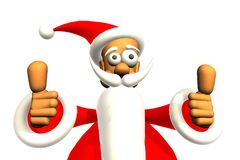 Happy santa Royalty Free Stock Images