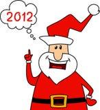 Happy Santa Claus Stock Photography