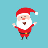 Happy Santa Claus character.  Royalty Free Stock Image