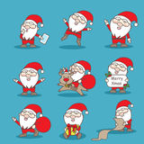 Happy Santa Claus Stock Photo
