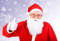 Happy Santa Claus Stock Photos