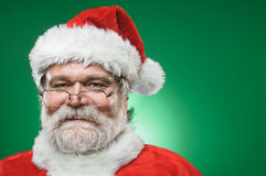 Happy Santa Claus Portrait Stock Photo
