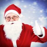Happy Santa Claus Royalty Free Stock Photos