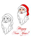 Happy Santa Claus Royalty Free Stock Images