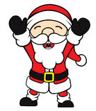 Happy Santa Clause Stock Images