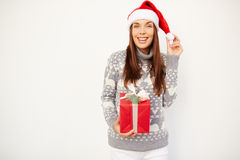 Happy Santa Royalty Free Stock Photography