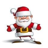 Happy Santa - Open Hands Royalty Free Stock Photos