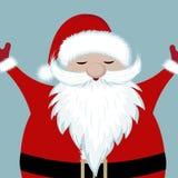 Happy Santa royalty free illustration