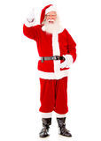 Happy Santa with thumbs up Royalty Free Stock Photography