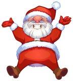 Happy santa Stock Image