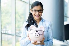 Happy savings Royalty Free Stock Image