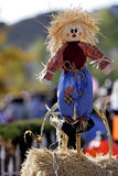 Happy Scarecrow #1. Happy scarecrow at a Fall festival in country/rural America stock photography
