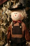 Happy Scarecrow Royalty Free Stock Images