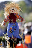 Happy Scarecrow #2. HHappy scarecrow at a Fall festival in country/rural America royalty free stock photography