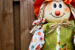 Happy Scarecrow Royalty Free Stock Photo
