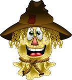 Happy_scarecrow.jpg Stock Photography
