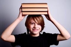 Happy school boy Stock Photos