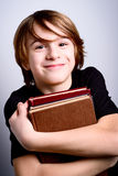 Happy school boy Stock Image