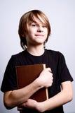 Happy school boy Stock Photography