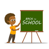 Happy School Boy Royalty Free Stock Image