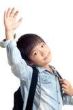 Happy school kid Royalty Free Stock Images