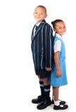 Happy school kids Royalty Free Stock Images