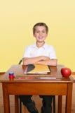 Happy school student Royalty Free Stock Photos