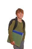 Happy schoolboy Stock Image