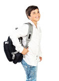 Happy schoolboy Royalty Free Stock Photo