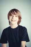 Happy schoolboy Stock Photos