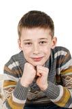 Happy schoolboy Stock Images