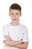 Happy schoolboy Royalty Free Stock Photos