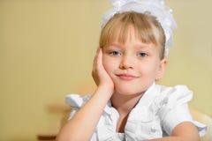 Happy schoolchild Stock Photos