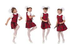 Happy schoolgir Royalty Free Stock Photography