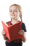 Happy schoolgirl Royalty Free Stock Photos