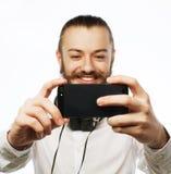 Happy selfie Royalty Free Stock Image