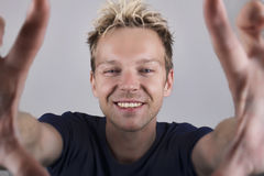 Happy selfie Royalty Free Stock Images