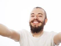 Happy selfie. Royalty Free Stock Photography